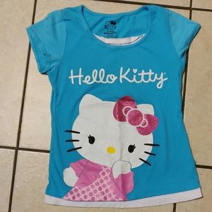 Hello kitty shirt short sleeve